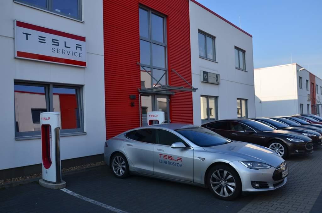 Полное сервисное обслуживание Tesla