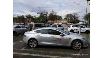 Поездка Tesla Club Rostov в Краснодар путешествие на Tesla Model S по России и Европе.