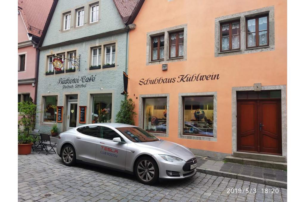 Аренда Tesla Model S на час
