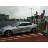 Поездка Tesla Club Rostov в Польшу путешествие на Tesla Model S по России и Европе.