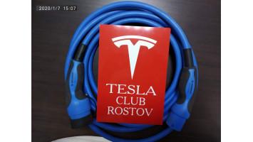 Кабель Type2 для Tesla